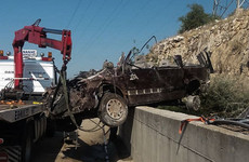 Six people, including three children, killed when smuggler's jeep crashed