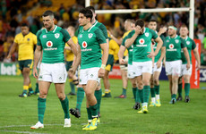 Ireland's winning streak over as Cheika's Wallabies power to Brisbane victory