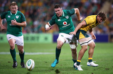 'It's not just thrown out the window': Ireland sticking with plan despite defeat
