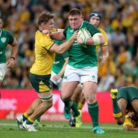 Outstanding Hooper 'stoked' as Wallabies wreak havoc at the breakdown