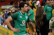 'I went up to Carbery after the game and said, 'I love your work''
