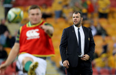 'We know it's going to get harder' - Cheika expects Ireland to improve
