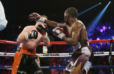 Santa Cruz wins rematch to hold onto WBA featherweight title, Crawford stops Horn