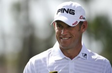 Westwood 'pretty confident' ahead of Masters