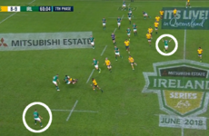 Analysis: 23 seconds that highlight how Ireland were beaten in Brisbane