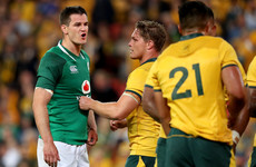 Ireland under pressure in Melbourne but Schmidt feels they aren't far off