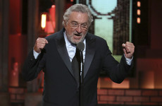 'F**k Trump': Robert De Niro's attack on Donald Trump gets standing ovation