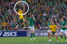 Analysis: Ireland take punishment from Israel Folau's freakish aerial game