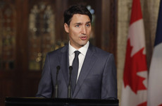 FactCheck: Did Justin Trudeau's eyebrow fall off during a press conference?
