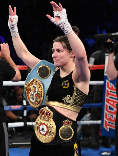 Katie Taylor to defend world titles against American veteran in London