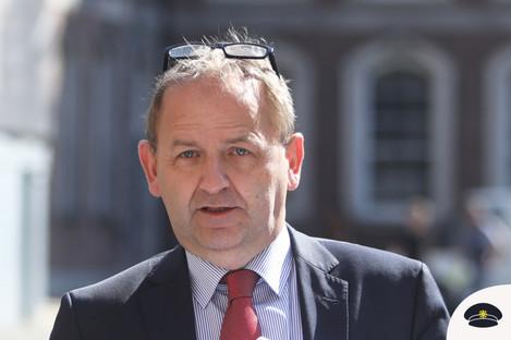 Maurice McCabe at the tribunal last week