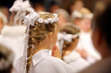 How much do children get on their Communion day and how much do parents spend?