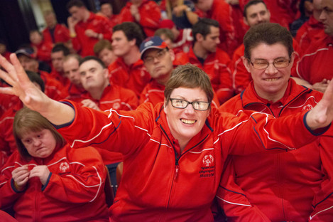 Special Olympics Ireland Team Munster Launch at City Hall in April