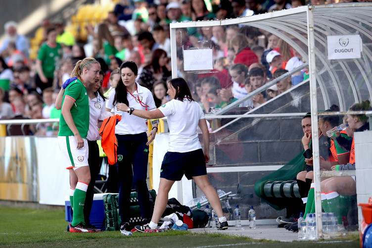 Defender Louise Quinn, who went off injured last Friday, is set to feature in Tuesday's crucial clash with Norway.