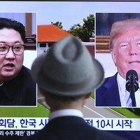 Donald Trump expects a 'nice' outcome from historic summit with Kim Jong Un