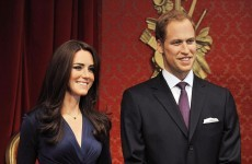 PICS: Immortalised in wax - Kate and Will