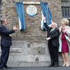 President Higgins unveils plaque at Dublin Castle where an Irish suffragette smashed a window