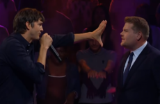 Ashton Kutcher and James Corden's rap battle was more cut-throat than we'd expected