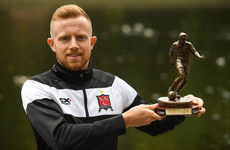 Dundalk's Hoare claims May Player of the Month award