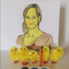 JK Rowling shared this Irish artist's depiction of her as a chicken on Twitter