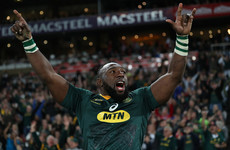 The Beast to reach Springbok landmark as Erasmus names team for England