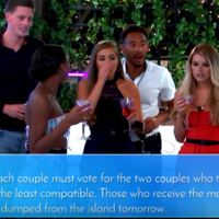 The Love Island contestants just received a text that will undoubtedly cause a lot of trouble tonight