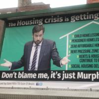 Eoin vs Eoghan: Is Sinn Féin's housing billboard fair game or a PR stunt?