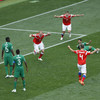 A perfect start for hosts Russia as they earn emphatic victory in World Cup opener