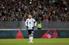 Fifa to take action over Palestinan FA chief's Messi comment