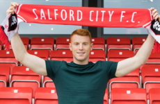 Ex-League of Ireland striker makes switch from Bristol to Salford City