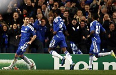 As it happened: Chelsea v Benfica, Champions League
