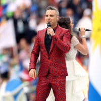 US network apologises for Robbie Williams World Cup gesture