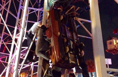 Riders plunge 10 metres to the ground after roller coaster derails in Florida