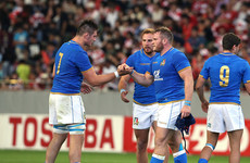 'Both sides went at it furiously': Italy withstand Brave Blossoms fightback to end season with victory