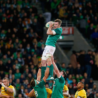 Peter 'turnover' O'Mahony leads from the front as Ireland deliver their season's best