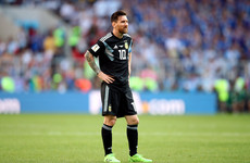 Lionel Messi misses a penalty as Argentina left frustrated by World Cup debutants Iceland