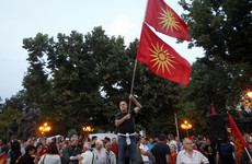 Macedonia will today agree to change its name but tensions are high on the Greek border