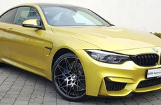 Motor Envy: This yellow BMW M4 is a fun supercar that can also handle the school run