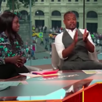 Patrice Evra criticised for 'patronising' reaction to Eni Aluko's analysis on ITV