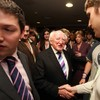 Michael D Higgins hits out at racism and homophobia