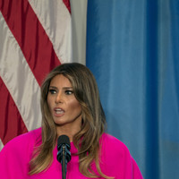 Melania Trump and Laura Bush hit out at separating of families at US border