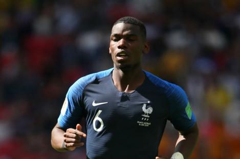 France midfielder Paul Pogba