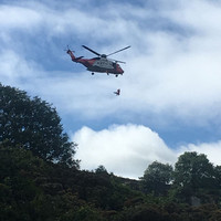 Woman airlifted to hospital after fall at Dalkey Quarry