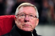 Home thoughts: Fergie still reckons Manchester derby will be crucial