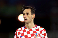 Croatia's injured striker sent home from Russia