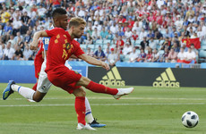 Belgium lead Panama thanks to one of the goals of the tournament so far