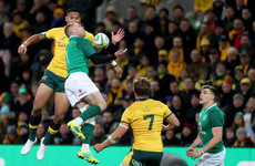 Ireland defend themselves after Wallabies question 'blocking' tactics