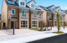 Spacious canalside family homes in Kildare starting at €380k