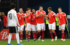 Captain scores freak own goal as Russia emphatically sour Salah's scoring return