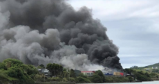 Huge fire engulfs fish factory in Co Cork